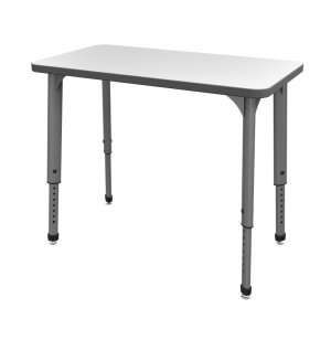 Apex Adjustable School Desk with Whiteboard Top