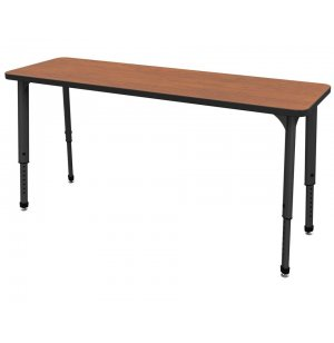 Apex Adjustable Double School Desk