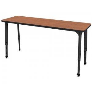 Marco Group Apex Adjustable Double School Desk