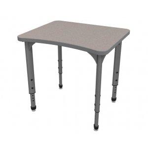 Apex Adjustable Curve School Desk