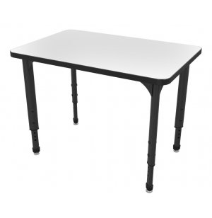 Apex Adjustable School Desk - Whiteboard Top