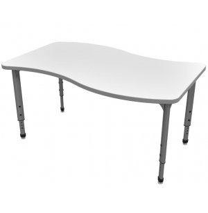Apex Adjustable Wave Activity Table - Whiteboard Top