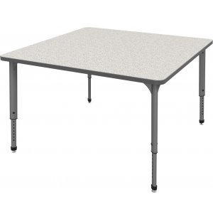 Marco Group Apex Adjustable Square Activity Table