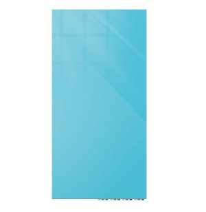 Aria Floating Magnetic Glass Whiteboard