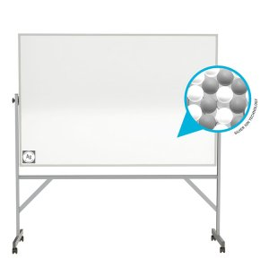 Ghent Reversible Magnetic Hygienic Porcelain Whiteboard