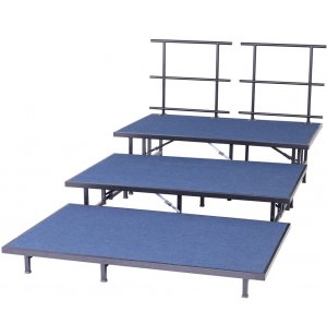 Portable Seated Choir Riser Add-On - 8'L