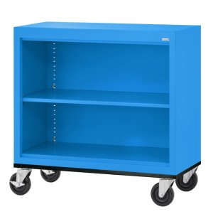 Mobile Steel Bookcase