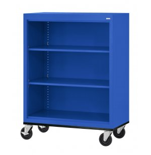 Mobile Steel Bookcase