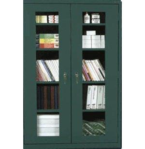 Stationary C-Thru Storage Cabinet Full Height