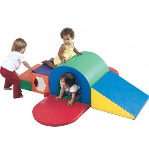 Alpine Indoor Soft Play Tunnel Slide