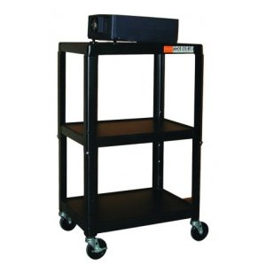 Adjustable Height AV Cart with Electric
