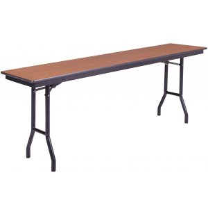Plywood-Core Folding Table Wishbone Leg 24 x 72