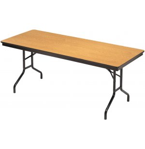 Plywood-Core Folding Table Wishbone Leg 30 x 72