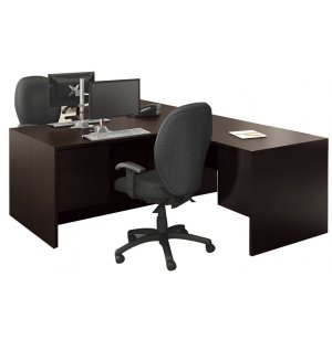 Genoa L-Shaped Office Desk - Left Return