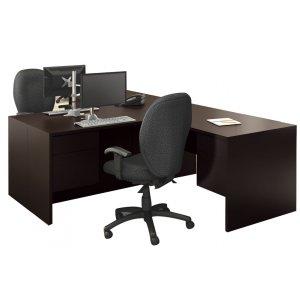 Genoa L-Shaped Office Desk - Right Return