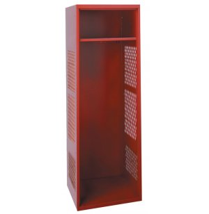 Athletic Locker w/Stainless Steel Coat Rod