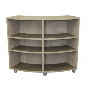 Curved School Bookcase