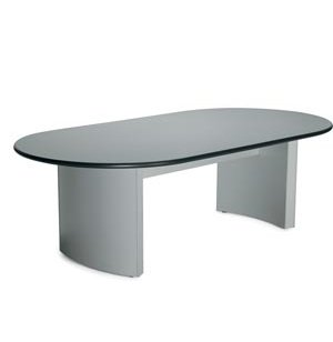 Curved Conference Table -Flush Base