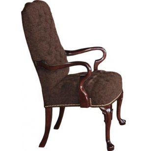 Bedford Gooseneck Guest Chair in Grade 1