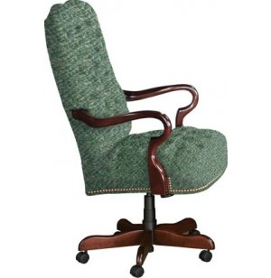 Gooseneck Swivel Office Chair - Grade 1