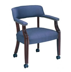 Bedford Captain Chair with Casters