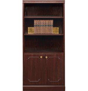 Bedford Bookcase with 2-Door Base