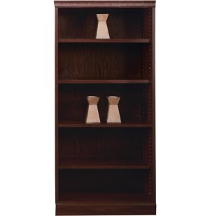 Bedford4-shelf Bookcase Wall Unit