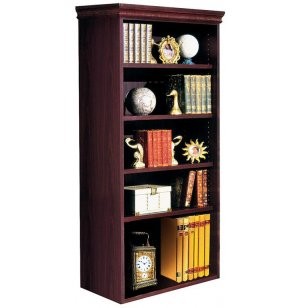 Bedford Bookcase with 3 Adj & 1 Fixed Shelf