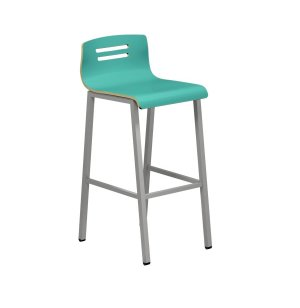 Bella Bar Stool - Veneer Finish
