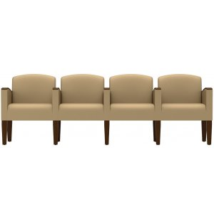 4-Seat Sofa with Center Arms