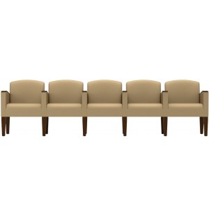 5-Seat Sofa with Center Arms