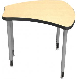 "Balt Shapes Collaborative School Desk - 36""x34"""