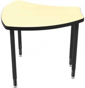 "Balt Shapes Collaborative School Desk - 29""x27"""