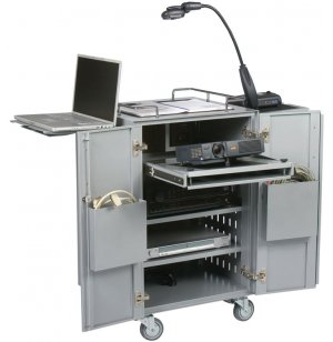 Boss Presentation AV Cart