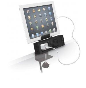 Clamp-Mount USB Power Strip
