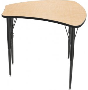 Mooreco Economy Shapes Collaborative School Desk - 29
