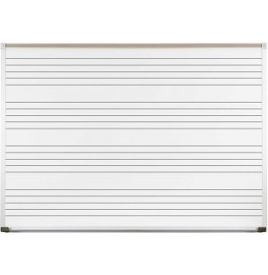 4x6 Porcelain Steel Music Board