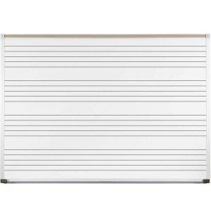 4x6 Porcelain Steel Music Board