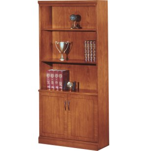 Belmont Bookcase with Doors