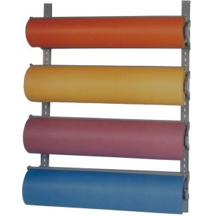 Horizontal 4-Roll Paper Dispenser Wall Rack