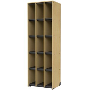 Band-Stor Music Instrument Storage - 15 Cubbies