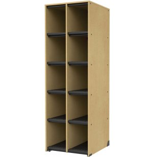 Band-Stor Music Instrument Storage - 10 Cubbies