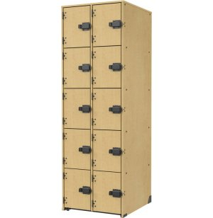 Band-Stor Acoustic Guitar Storage - Solid Door, 10 Cubbies