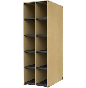 Band-Stor Music Instrument Storage - Extra-Deep, 10 Cubbies