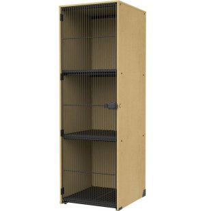 Band-Stor Instrument Locker - Grille Door, 3 Lg Compartments