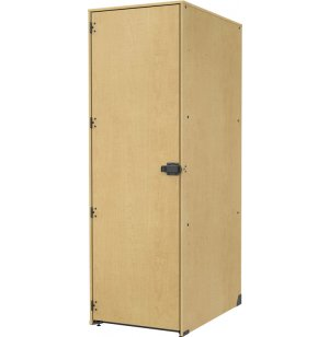 Band-Stor Instrument Locker - Solid Door, 3 Lg Deep Cubbies