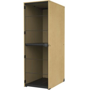Instrument Locker - Grille Door, 2 Lg X-Deep Cubbies