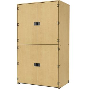 Band-Stor Instrument Locker - Solid Doors, 2 XL Compartments