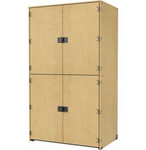 Band-Stor Instrument Locker - Solid Doors, 2 XL Compartments