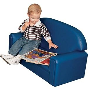 Toddler Vinyl Sofa